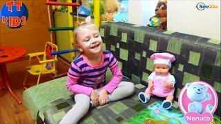 ✔Кукла Ненуко и Ярослава открывают сюрпризы для малышки – новая одежда / Doll Nenuco with Yaroslava