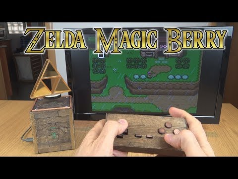 Repeat 🕹️Raspberry pi Zelda mod: MagicBerry WindWaker by Makomod