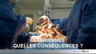 Césariennes quelles conséquences ?