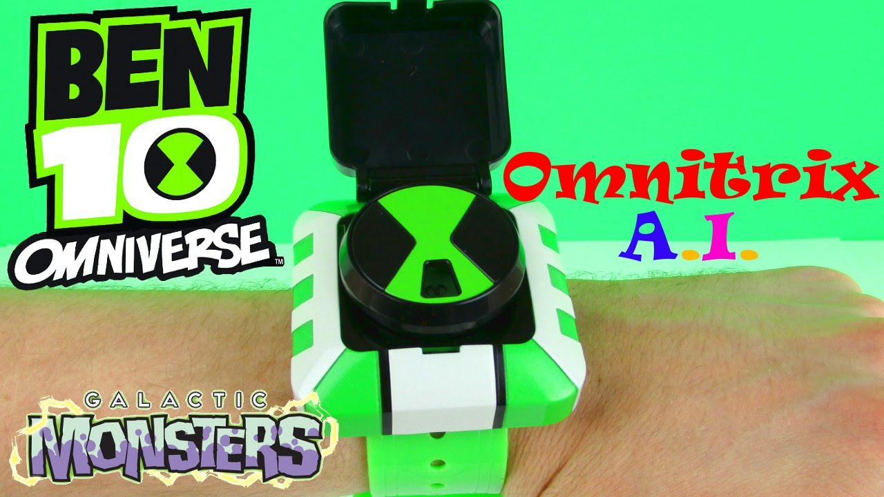 BEN 10 OMNIVERSE GALACTIC MONSTERS TOYS EPISODE OMNITRIX A ...