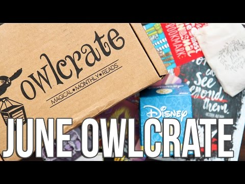 Owlcrate Book Subscription Unboxing | June 2016 Royalty Box