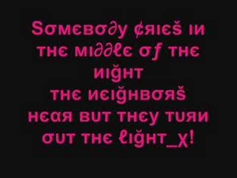 Lyrics to dj cammy dancing in the dark
