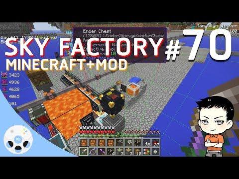 Minecraft Sky Factory #70 - สอนคอมใช้เตาเผา