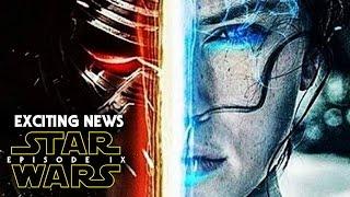 Star Wars Episode 9 Exciting News! (Star Wars Episode IX)
