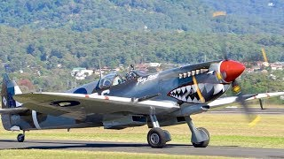 Wings Over Illawarra 2017 Highlights [ Wall of Fire, F/A18, C130J, C17, Fw-190, Mustang, Spitfire]