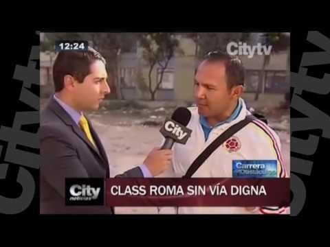 Mal estado de las vías en varias zonas de Bogotá   CityTV   Agosto 9