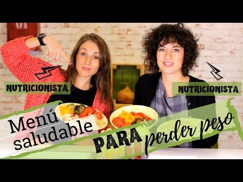 MENÚ SEMANAL PARA PERDER PESO | Cómo preparar una dieta saludable para adelgazar