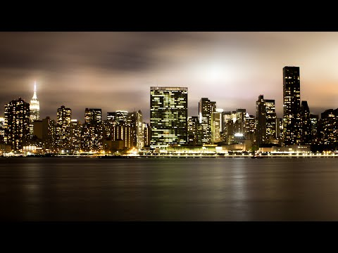 Manhattan Skyline at Night - NYC Photography Vlog
