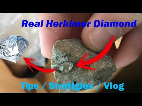 Herkimer Diamond Mining Tips/ Strategies/ Review Vlog #4