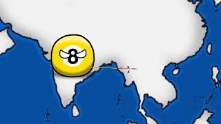 история Индии countryballs рисуем мультфильмы 2