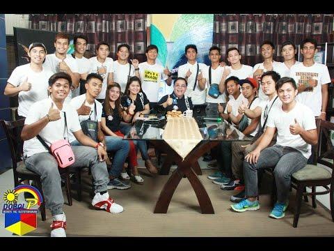 Dobol P with basketball team Bagong Cabanatuan