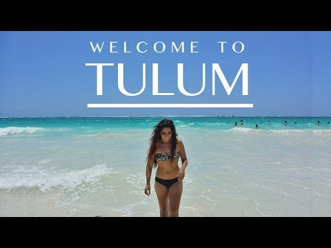 TULUM: The BLUEST BEACHES and MAYAN RUINS