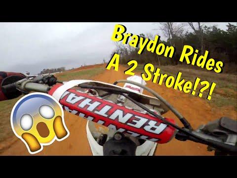 Braydon Rides A Two Stroke?!?! EP-30