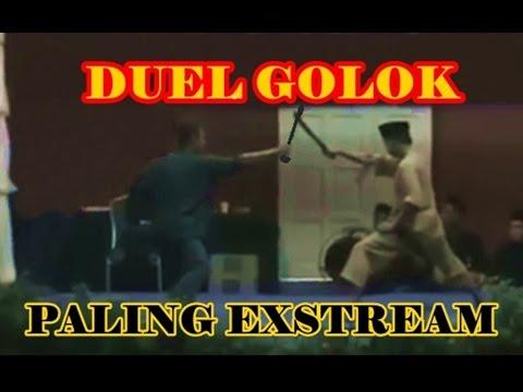MENGERIKAN,,,DUEL GOLOK PALING EXSTREAM