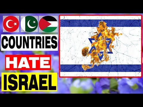 🇮🇱Top 10 Countries That Hate Israel🇮🇱