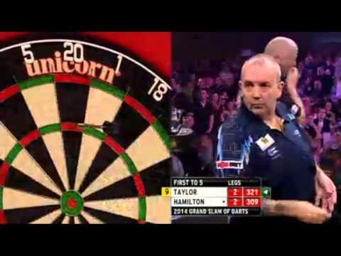 PDC Grand Slam of Darts 2014   Group E   Taylor vs Hamilton