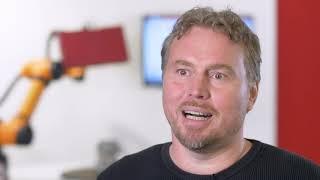 GOM ScanCobot - Dr. Carsten Reich im Interview