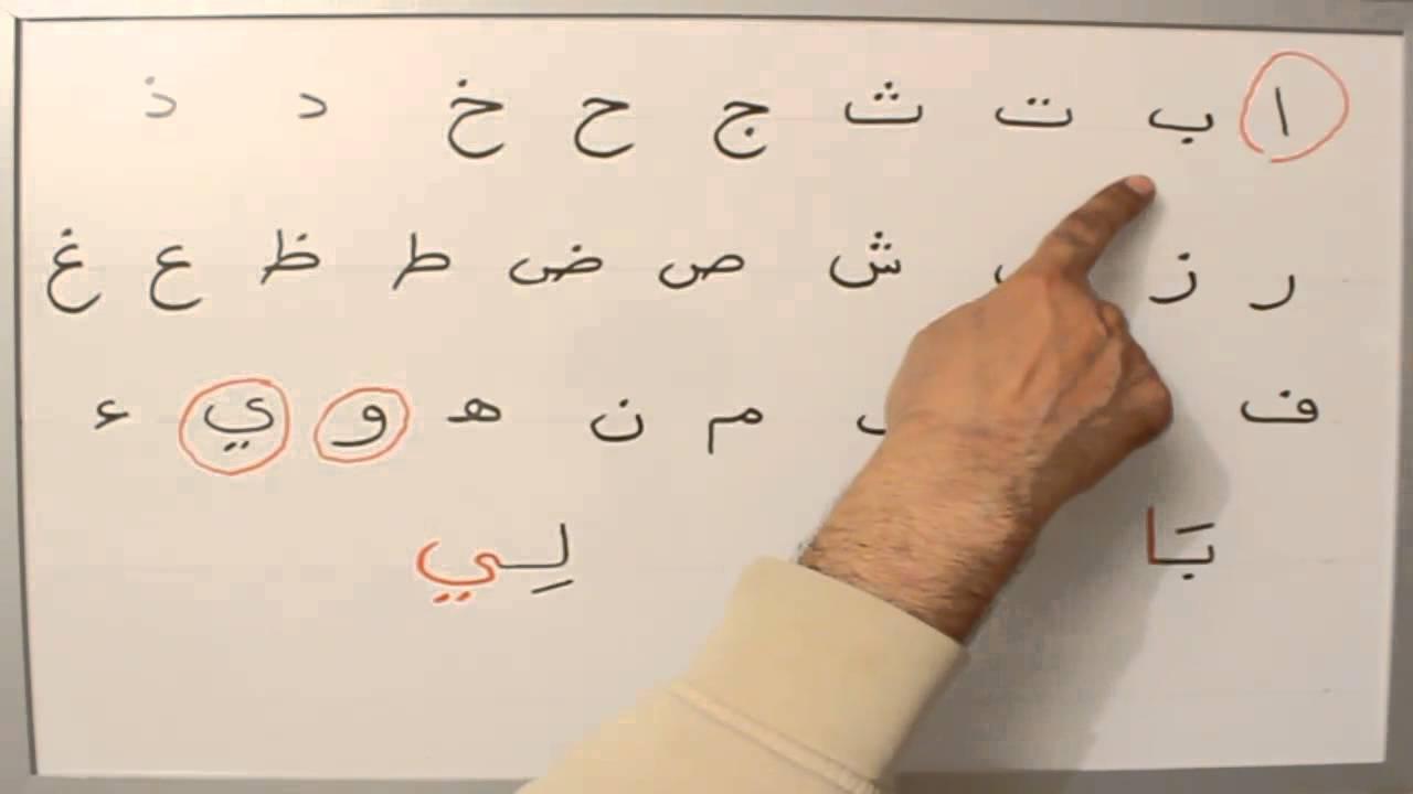 lettre z en arabe L'arabe de A à Z  L'alongement #4   YouTube lettre z en arabe
