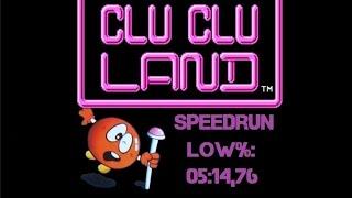 Clu Clu Land - Low% Speedrun in 5:14,76