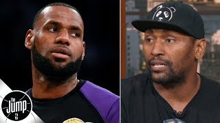 LeBron doesn't need 'yes' people around him on the Lakers – Metta World Peace | The Jump