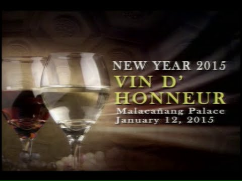 New Year 2015 Vin D' Honneur - PTV Special Coverage [01/12/15]