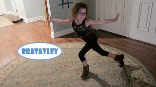 Hayley Learns Her Beam Routine (WK 255.2) | Bratayley
