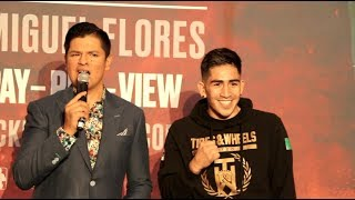 WILL HE BECOME A FOUR WEIGHT WORLD CHAMPION? - LEO SANTA CRUZ (OFFICIAL) GRAND ARRIVAL @ MGM GRAND