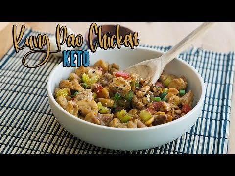Download Youtube: Keto Kung Pao Chicken   One Pot Dinner Recipe
