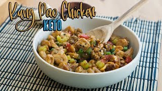 Keto Kung Pao Chicken  One Pot Dinner Recipe