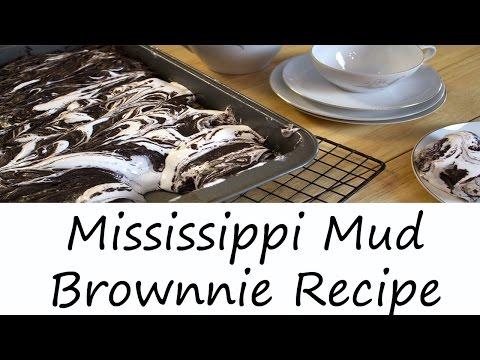 Mississippi Mud Brownies Recipe