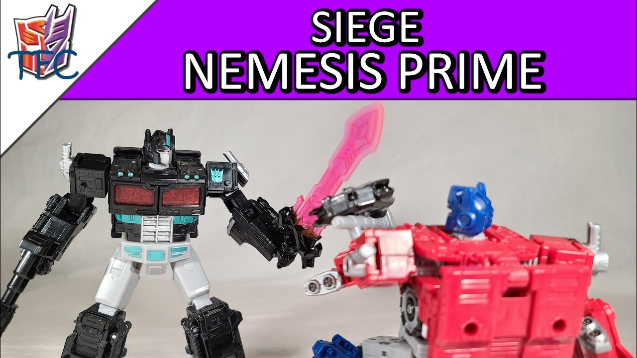 TF Collector Siege Nemesis Prime Review!