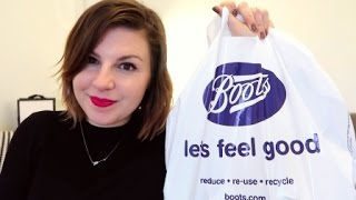 Boots Beauty Haul / NEW AT THE DRUGSTORE