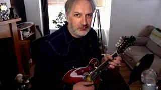 Patsy Geary's (slide) on mandolin