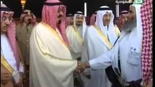 زيارة خادم الحرمين الشريفين الملك عبدالله بن عبدالعزيز لأسرة آل شبيلي