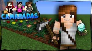 AS CAMARADAS #4: Plantações Mágicas (Magical Crops) [Minecraft 1.7.10 + Mods]