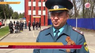 В Северной Осетии прошли соревнования по пожарно-прикладному  спорту среди дружин юных пожарных