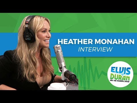 Heather Monahan on Overcoming Fears | Elvis Duran Show