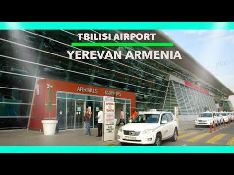 ARRIVAL AT  ARMENIA AIRPORT I YEREVAN
