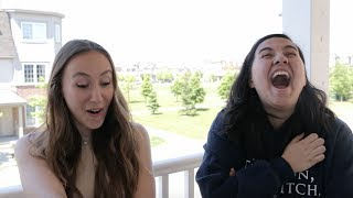 One of Mitch & Melinna's most viewed videos: WE REACT TO OUR OLD HOME VIDEOS ft. ElleOfTheMills