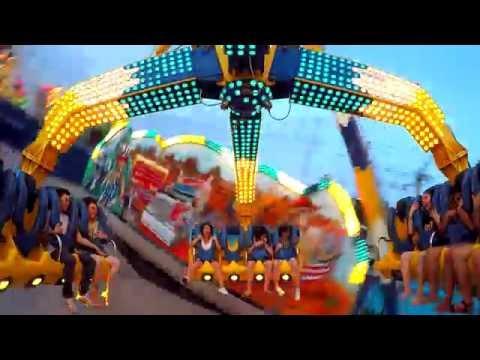 เครื่องเล่น Extreme - สวนสนุก Global Carnival 2016