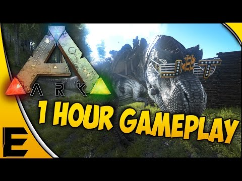 ARK Survival Evolved Gameplay ➤ 1 Hour Of Gameplay! [Part 12]