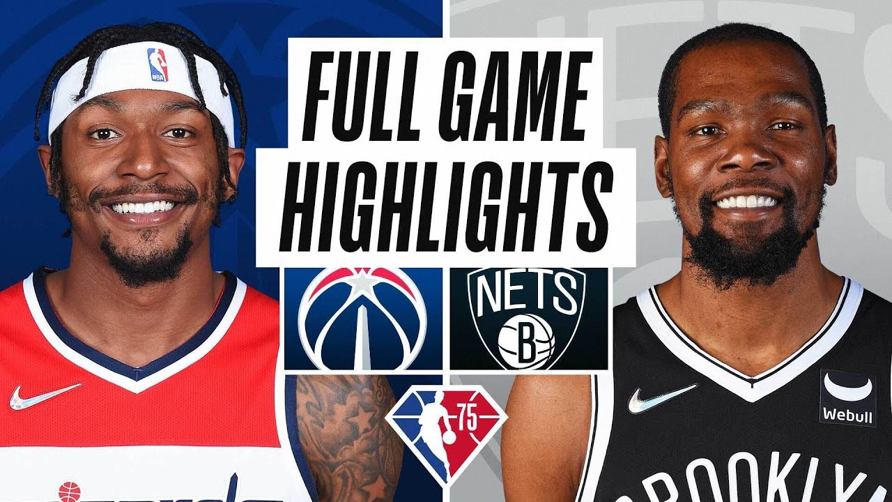 Download WIZARDS at NETS | FULL GAME HIGHLIGHTS | October 25, 2021