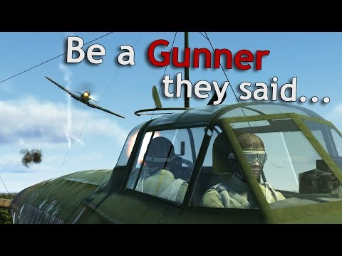 ⚜ | IL-2: Battle of Stalingrad - Be a Gunner they said...