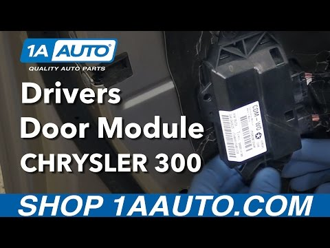 How to Replace Drivers Door Module 05-10 Chrysler 300