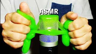 Asmr】slime on the microphone | relaxing ...