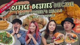 Office Besties Decide Each Other's Meals for 72 hours!   72 Hours Challenges   EP 29