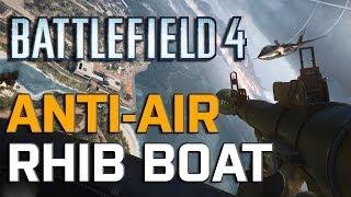 Battlefield 4 Launch - RHIB Boat: Terror of the Skies