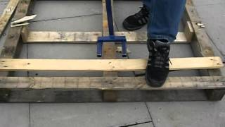Ez-pallet Breaker Pallet Saver From Ez-kindle The Safer Way To Make Kindling Without The Axe
