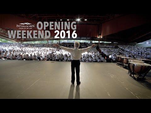 Interlochen Arts Camp Opening Weekend 2016