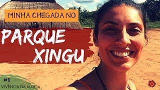 Chegada no parque Xingu